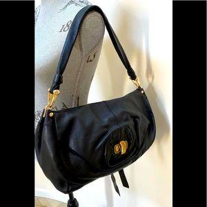 🛍 Nina Ricci Black Leather Sac Rabat bag